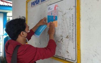 Mahasiswa KKNT UNISRI Lakukan Sosialisasi Pentingnya Prokes, Vaksinasi dan Latih Digital Marketing